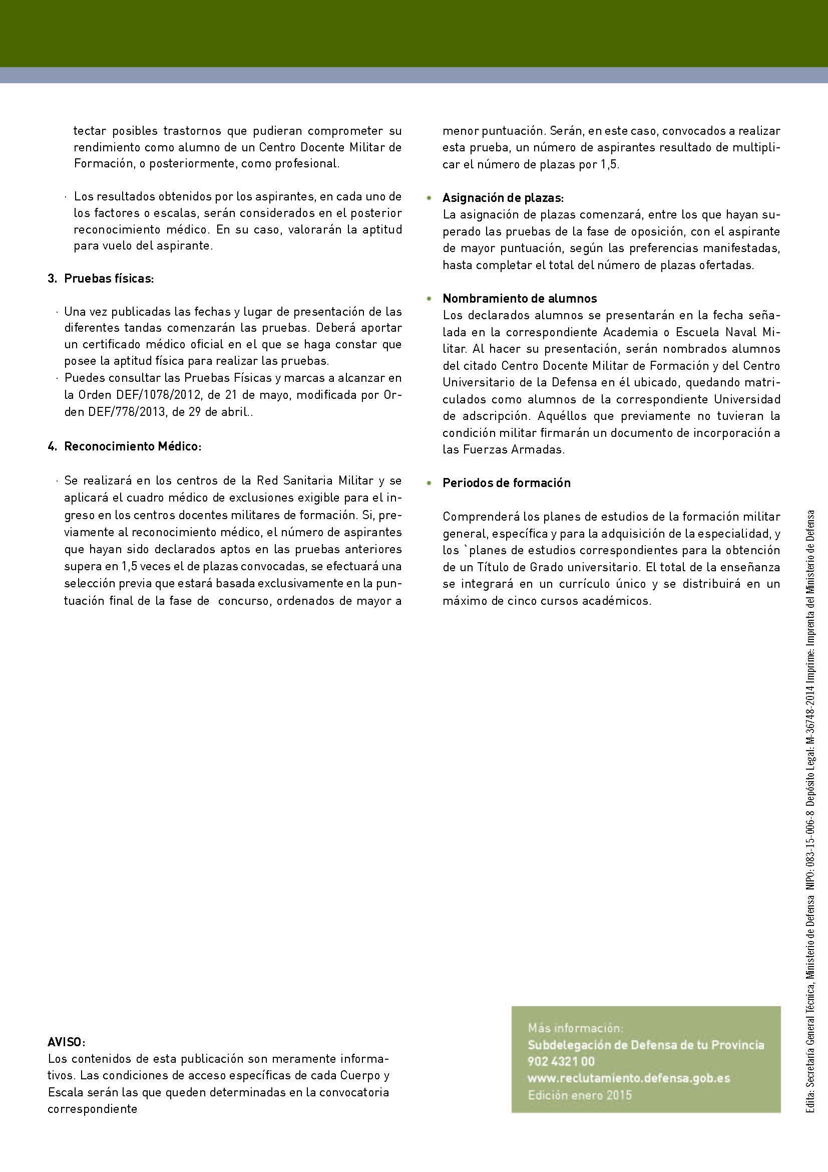 normas fisicas   sermilitar.com - Acceso a Escalas de Oficiales ...